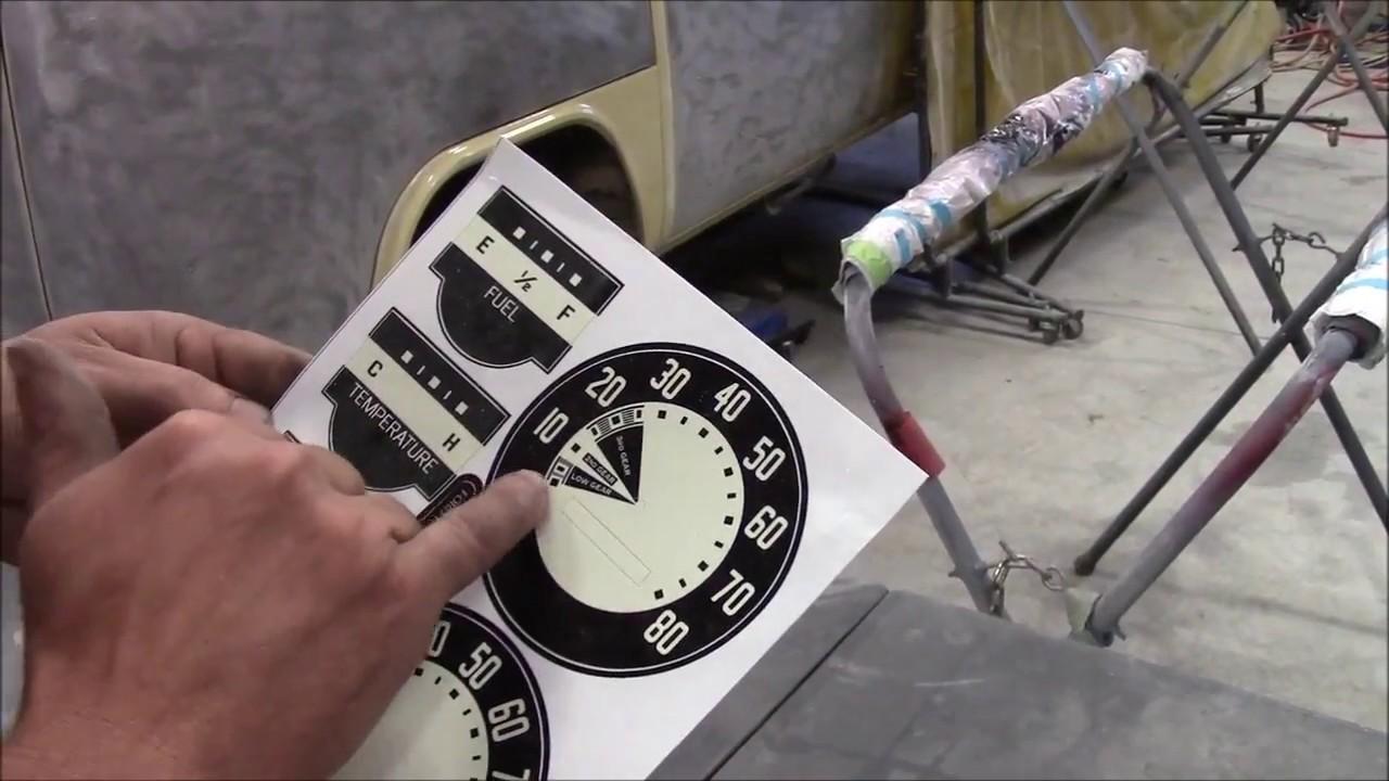1950 Ford F47 F1 Restoration Update Cluster Speedo Repair Part 1 Truck Wiring Diagrams On Harness And Gauges Lastchanceautorestore Com