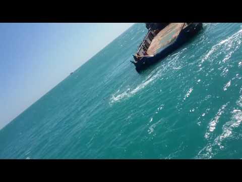 Rescue caught on camera  Atlantic Ocean. Sea depth 1000m