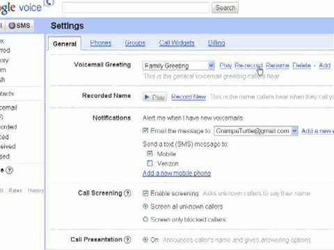 Setting custom greetings in google voice youtube setting custom greetings in google voice m4hsunfo