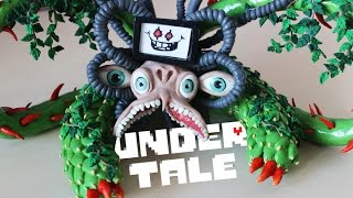 Undertale | Omega Flowey | Polymer clay | Speed Build
