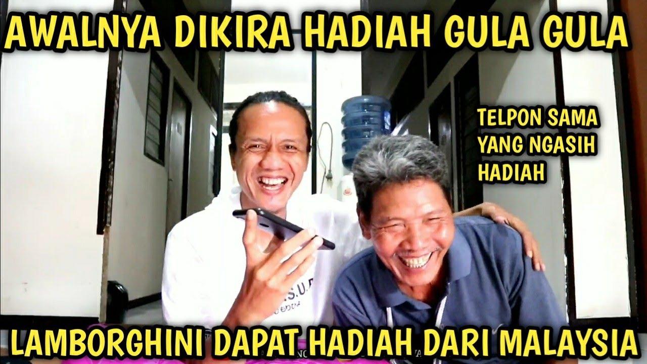 BAPAK LAMBORGHINI DAPAT HADIAH DAN BERCAKAP TERUS DENGAN ORANG MALAYSIA