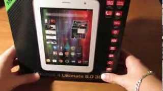 Обзор планшета Prestigio Multipad 4 Ultimate 8.0 3G (часть 1 ознакомление )