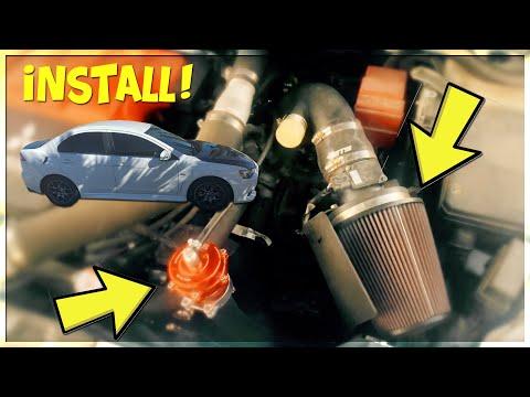EVO X - ETS COLD AIR INTAKE/TIAL Q BOV INSTALL