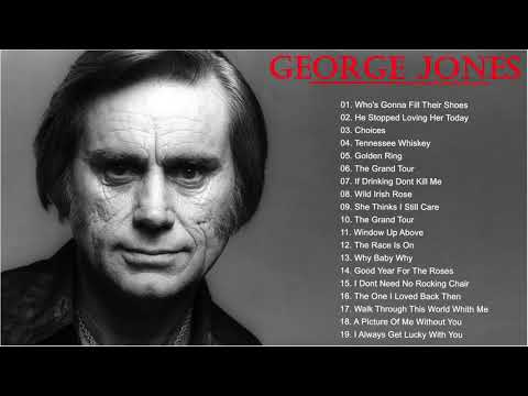George Jones Greatest Hits Best Songs Of George Jones