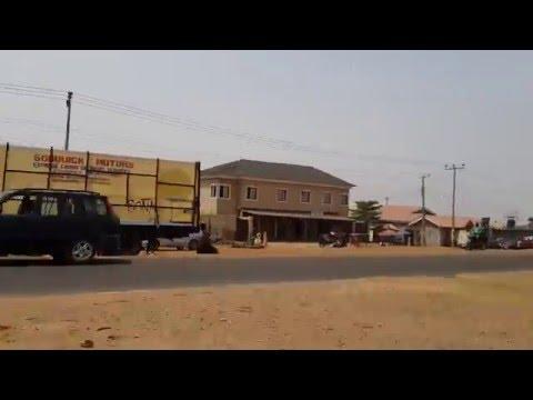 DRIVING THROUGH Minna, Niger