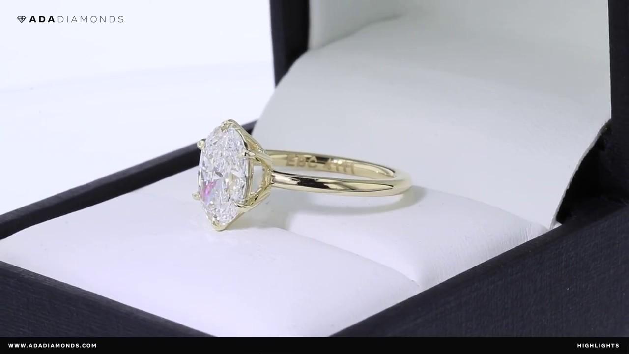 Custom Made Laboraotry Grown Diamond Engagement Rings