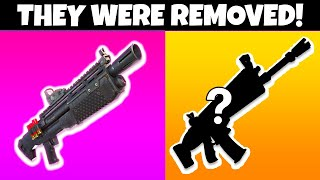 9 Things REMOVED From Fortnite SEASON 7! (shocking)