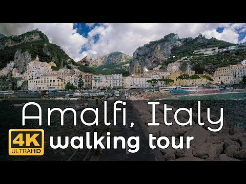 Amalfi, Italy Walking