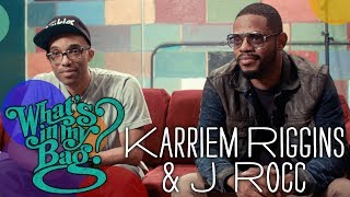 Karriem Riggins and J Rocc - What's In My Bag?