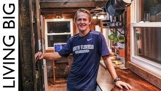 College Student Builds Outstanding Diy $15,000 Tiny House For Debt Free Living