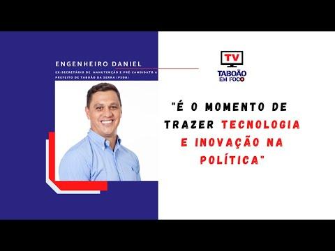 Entrevista com Engenheiro Daniel, pré-candidato a prefeito de Taboão da Serra