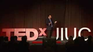 """Decision making and the pursuit of """"happy""""-ness: Ali Abbas at TEDxUIUC"""