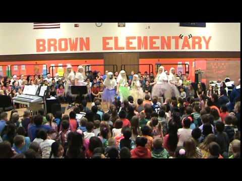 Brown School's ISTEP Pep Rally!