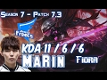 AFs MaRin FIORA vs JAYCE Top - Patch 7.3 KR Ranked