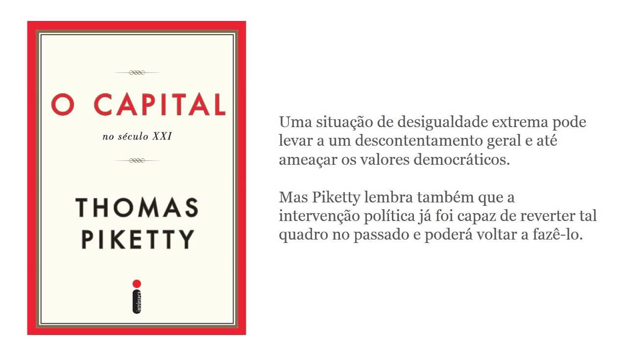 O capital no século XXI - por Thomas Piketty - YouTube