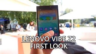 Lenovo Vibe Z2 First Look