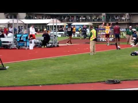 Wally Ellenson 2nd attempt  at 2.20M