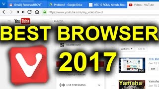 THE BEST BROWSER 2017 | Srsly. Go download it.