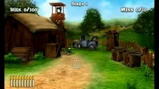 (Wii)  Chicken Riot Gameplay