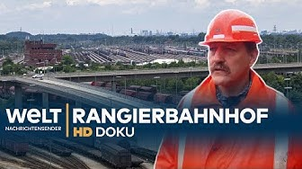 Güterzug-Drehscheibe Maschen - Europas größter Rangierbahnhof   HD Doku