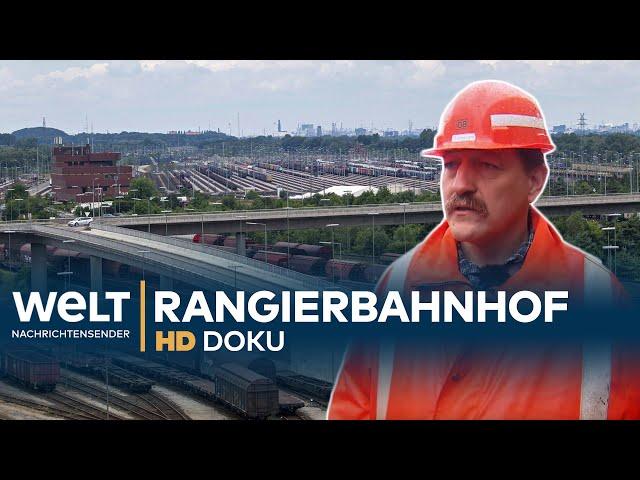 Güterzug-Drehscheibe Maschen - Europas größter Rangierbahnhof | Doku