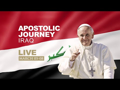 Prayer of Suffrage for the victims of war at Hosh-Al-Bieaa, Mosul | Papal Visit to Iraq | Live