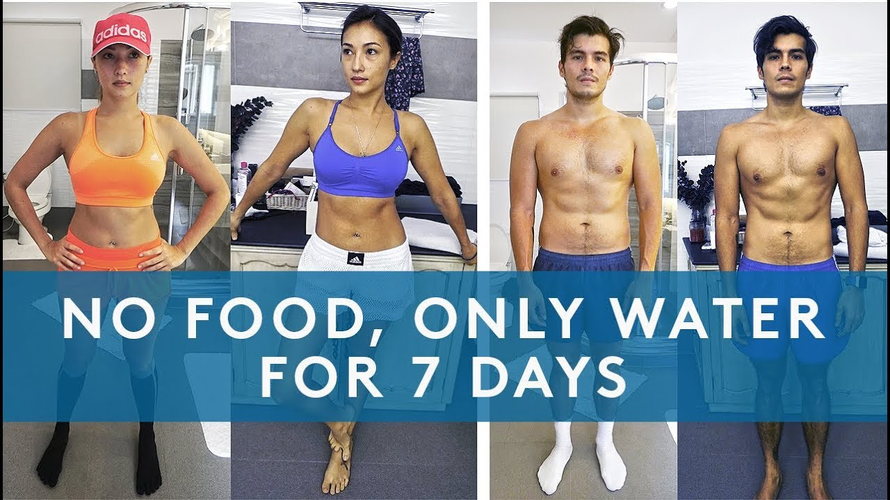 7 Day Water Fast Results No Eating For A Week Clipzui Com