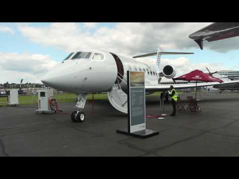 Qatar Executive at Farnborough International Airshow 2016