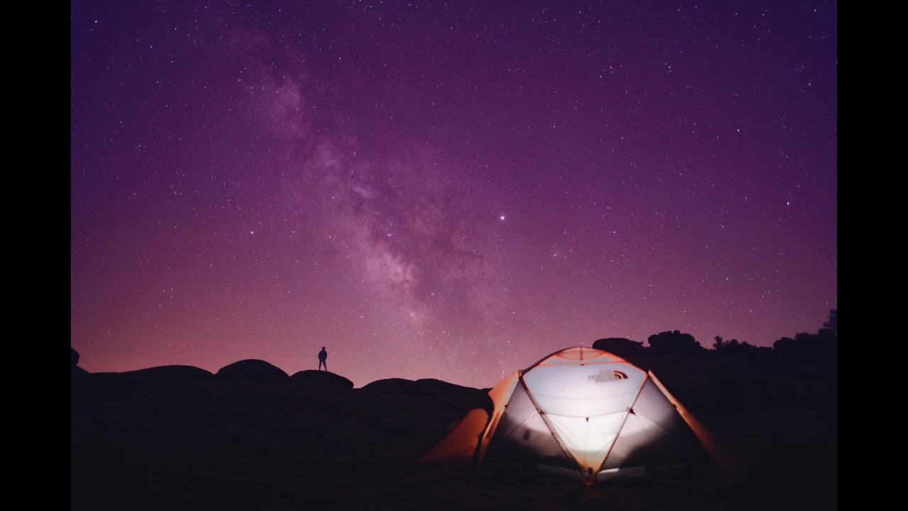 Шум ветра ночью в палатке! 2 часа. Как быстро заснуть.
