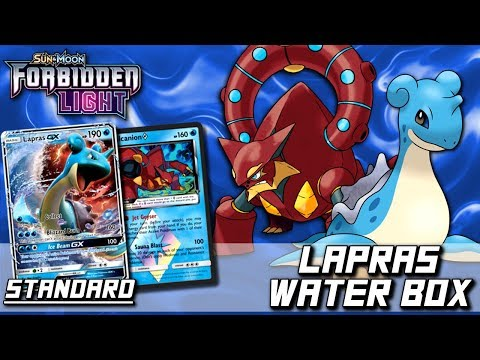 ➤ Pokemon TCG - STANDARD - Lapras Water Box - FLI