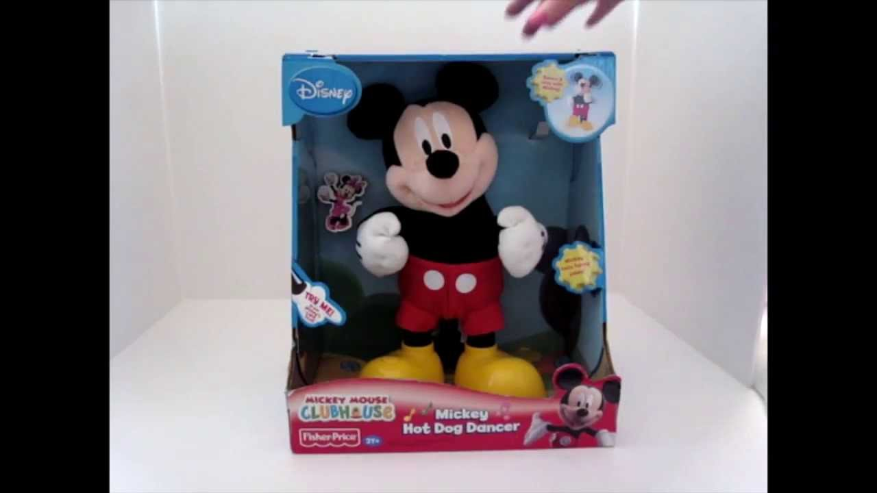 Mickey Mouse Hot Dog Toy