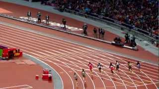 Allyson Felix 200m Semi Final, London 2012 Olympics