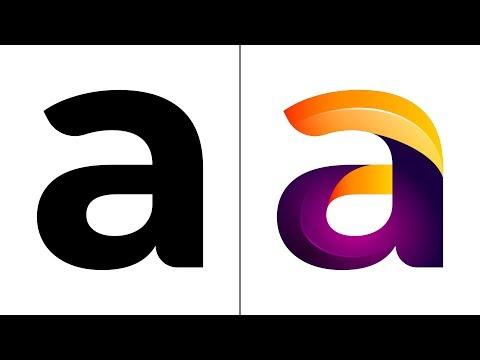 Letter A Logo Design on iPad Pro - Affinity Designer Tutorial