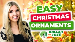 Impress Everyone with these Easy DIY Christmas Ornaments 🎄 that take 5 minutes to do!!