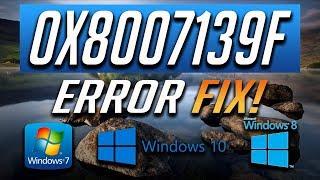 Fix Windows Update Error 0x8007139f in Windows 10 [3 Solutions] 2018