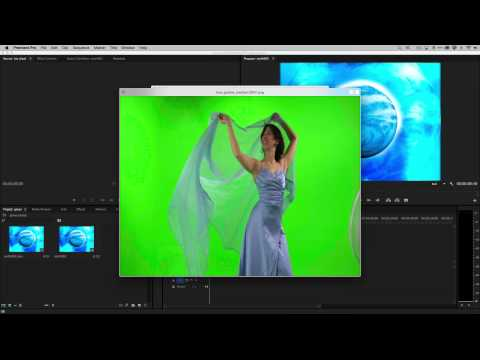 How to Do Green Screen (Chroma Key) Effects in Adobe Premiere Pro CC