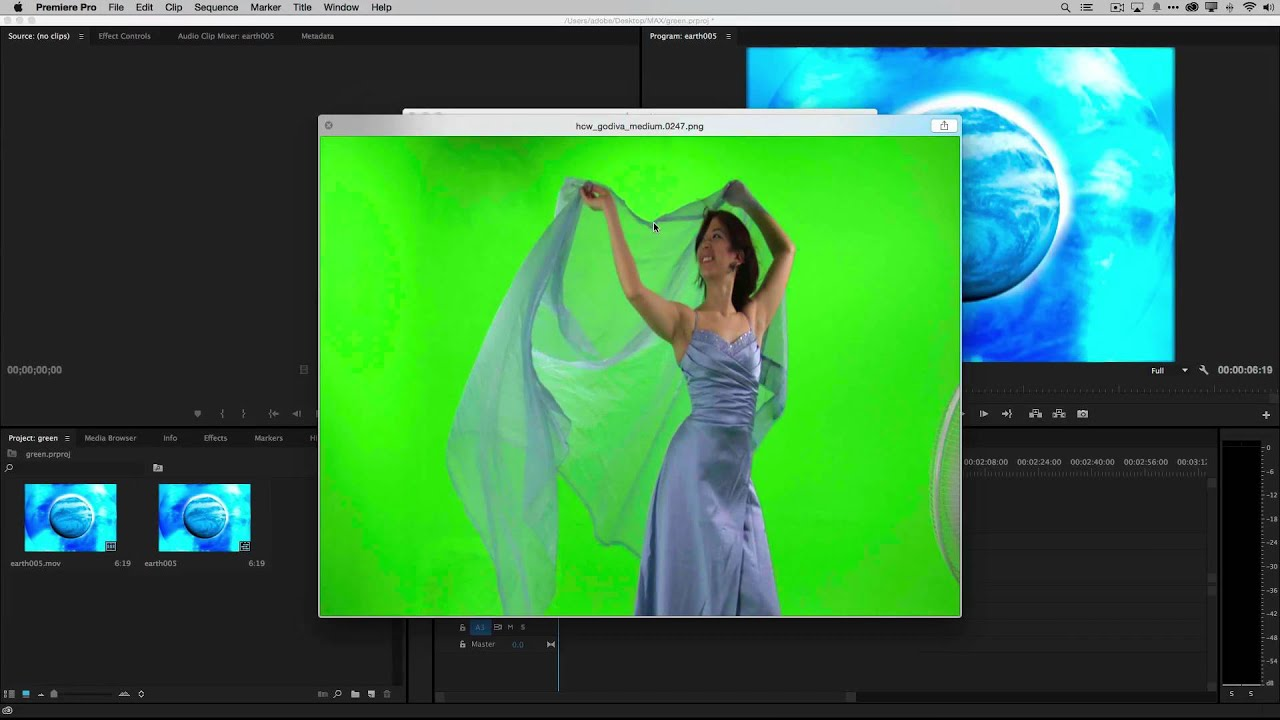 How to Do Green Screen (Chroma Key) Effects in Adobe Premiere Pro ...