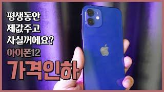 아이폰12 가격인하 소식