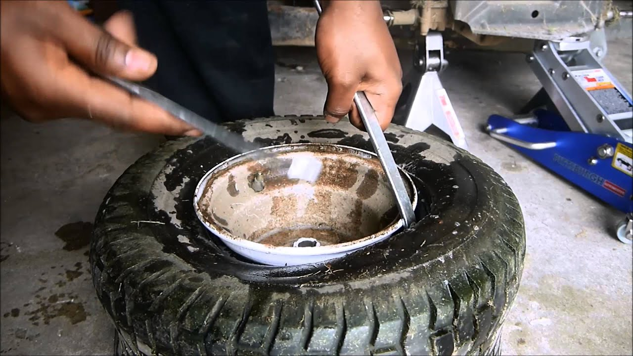 Installing Kenda Scorpion K290 Atv Tires On My Lawn