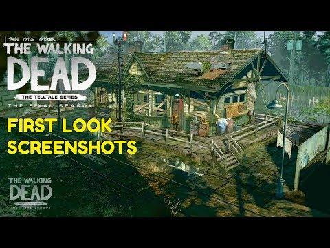 "The Walking Dead:Season 4: ""The Final Season"" First Look - New Character/area screenshots (twd s4)"