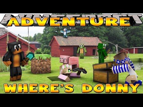 LITTLE DONNY IS MISSING :( - Minecraft - Little Donny Adventures.