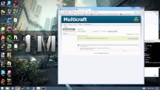Kolay Minecraft Server Açmak ! - Multicraft Nedir ?