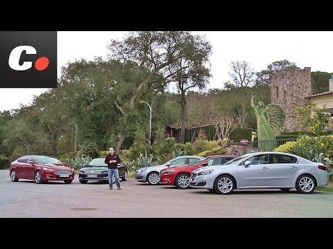 Volkswagen Passat, Ford Mondeo, Mazda6, Peugeot 508, Opel Insignia | Prueba Berlinas | coches.net