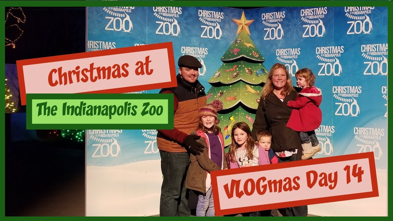 Christmas At The Zoo Indianapolis 2019.Christmas At The Indianapolis Zoo Lights Animals And