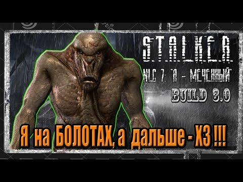 S.T.A.L.K.E.R. NLC 7. Build 3.0(Build 7101)#13 Тайник на болотах,тайник в ТД,пда Крысюка