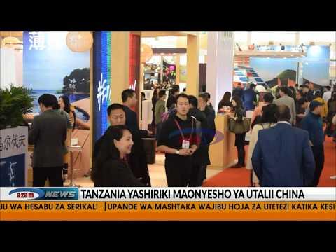 Tanzania yashiriki maonyesho ya utalii China