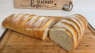 Տնական համեղ բատոն հաց Батон домашний в духовке рецепт Хлеб рецепт в домашних условиях