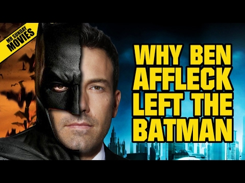 Why Ben Affleck Left THE BATMAN (As Director)