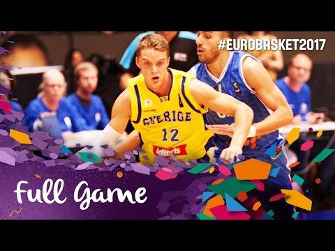 Sweden v Bosnia and Herzegovina - Full Game - FIBA EuroBasket 2017 Qualifiers