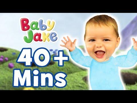 Baby Jake - Bouncing Around | The Magic Baby